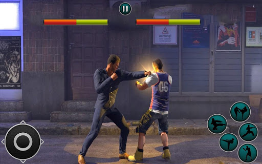 Code Triche Kung Fu Karate -Street fighter APK MOD screenshots 3