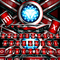 Iron Hero Red Reactor Keyboard icon