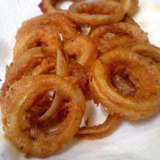 Milk-Powder Red-Onion Rings