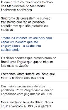 bbc brasil news