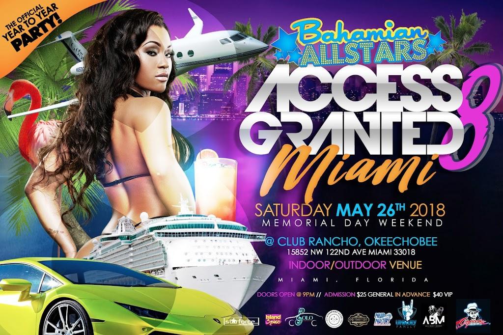 Bahamian Allstar Access Granted