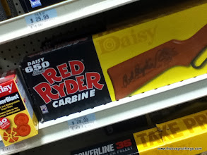 Photo: I just had to go with the Red Ryder! It's FAMOUS!