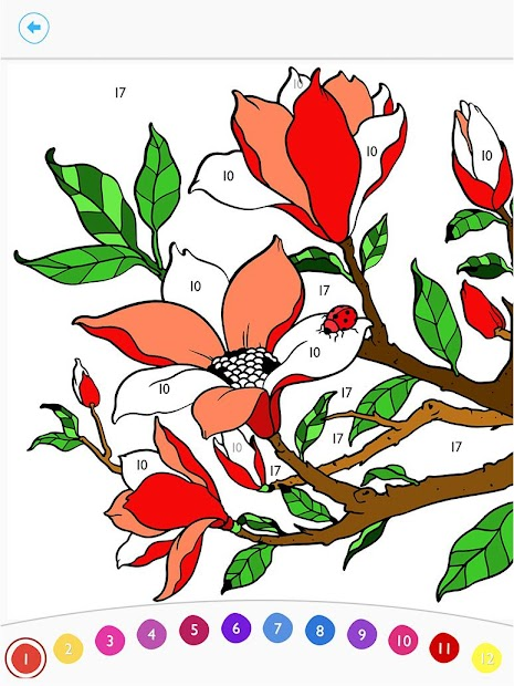 Paint by Number: Free Coloring Book Android App Screenshot