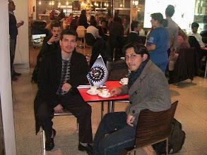 Photo: REIP France. Delegado de la ciudad de Marseilla, Ing. Carlos Porlles (UNI) , nos visita en Madrid, integrándose en nuestra red profesional.  2010.