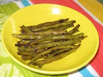 Smoky Balsamic Skillet Beans