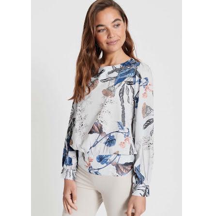 Dry Lake Sia blouse blue dandelion print
