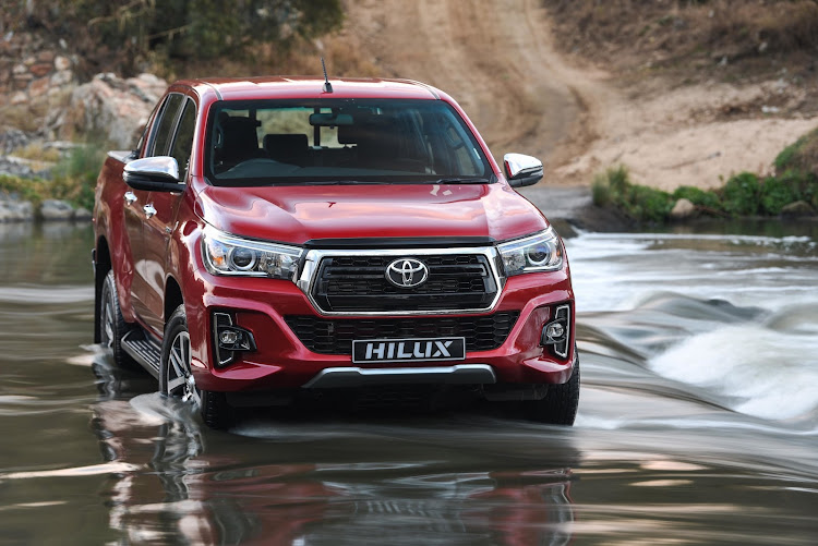 Toyota Hilux was again SA's best selling vehicle in December. Picture: SUPPLIED