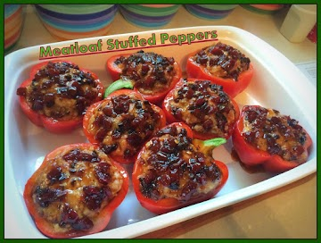 Meatloaf Stuffed Peppers Recipe