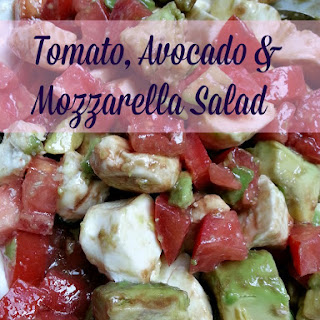 Tomato, Avocado & Mozzarella Salad