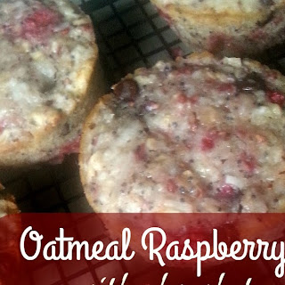 OATMEAL RASPBERRY MUFFINS WITH
