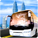 Bus Driving Simulator 3D Ville icon