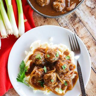 Savory Salisbury Steak with Onion Gravy Recipe
