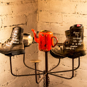 Boots by Elna Geringer - Artistic Objects Other Objects