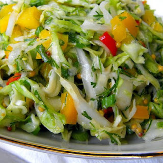 Cabbage Salad With Horseradish Sauce