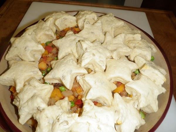 Turnip, Leek And Chickpea Pot Pie Recipe