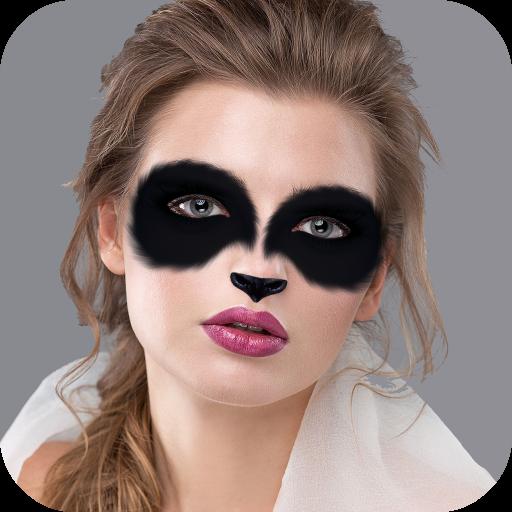 Panda Face Mask: Animal Photo Editor Icon