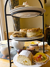 Photo: No trip to England is complete without high tea