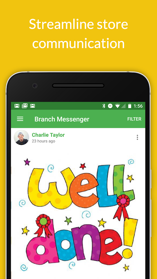 Branch Messenger- screenshot