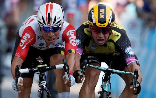 Caleb Ewan takes his first Tour de France stage victory