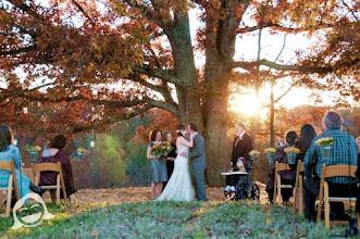 Photo: 1st kiss as husband & wife! - GreenbrierFarms.com - Easley, SC  10/10 - http://WeddingWoman.net -  Photo courtesy Kelli Boling - RedKPhotography -
