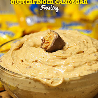 Butterfinger Candy Bar Frosting