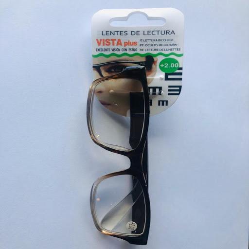 lentes de lectura negro +2.00