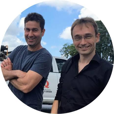 Markus Hohenwarter en Stephen Jull