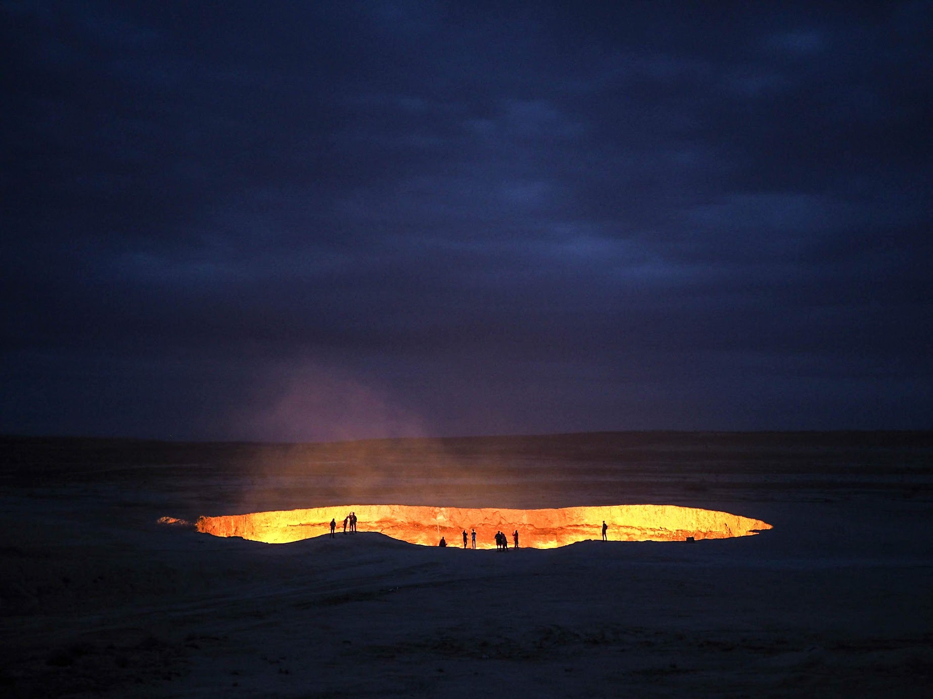 Darvaza Crater is Turkmenistan's most visited tourist attraction.