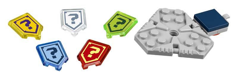 Contenido de Lego® 70372 Pack de Poderes Nexo, Edición 1