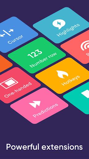 Fleksy- Emoji & gif keyboard app 9.7.2 screenshots 8