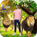 Lion Cut Paste Photo Editor icon
