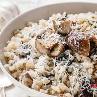 Crockpot Mushroom Risotto Recipe