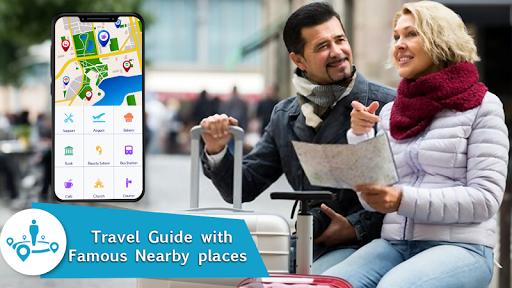 Voice GPS Navigation 2020 - Live Earth Map Parking 1.1.2 10