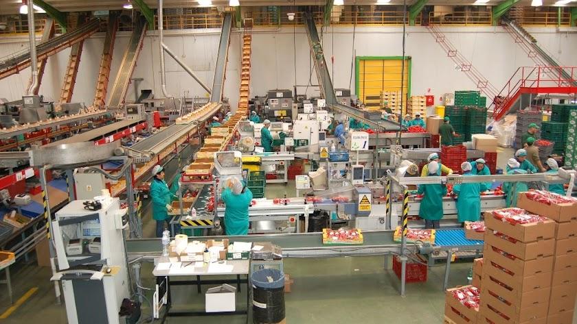 Imagen de archivo de un almacén de la provincia.
