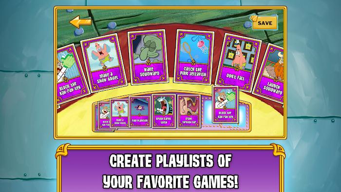 SpongeBob's Game Frenzy - screenshot