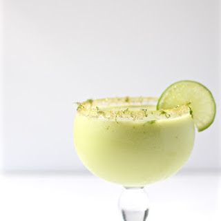 Jalapeno-Infused Avocado Cucumber Cocktail.