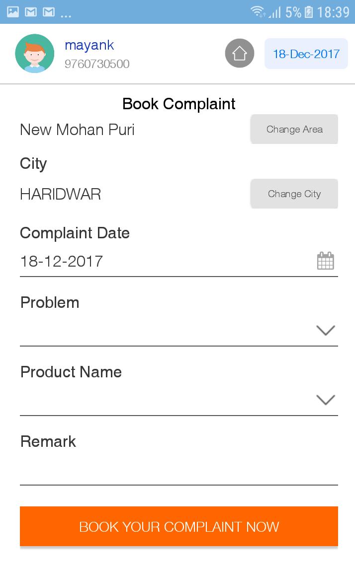 Скриншот Myparkash