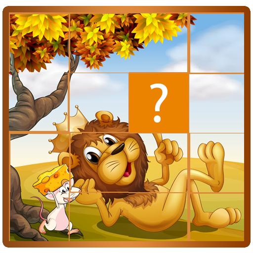 動物園卡通動物與拼圖 解謎 App LOGO-硬是要APP