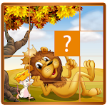 Zoo Cartoon Animals Puzzle