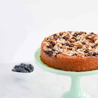 Gluten Free Blueberry Chocolate Cake Recipe