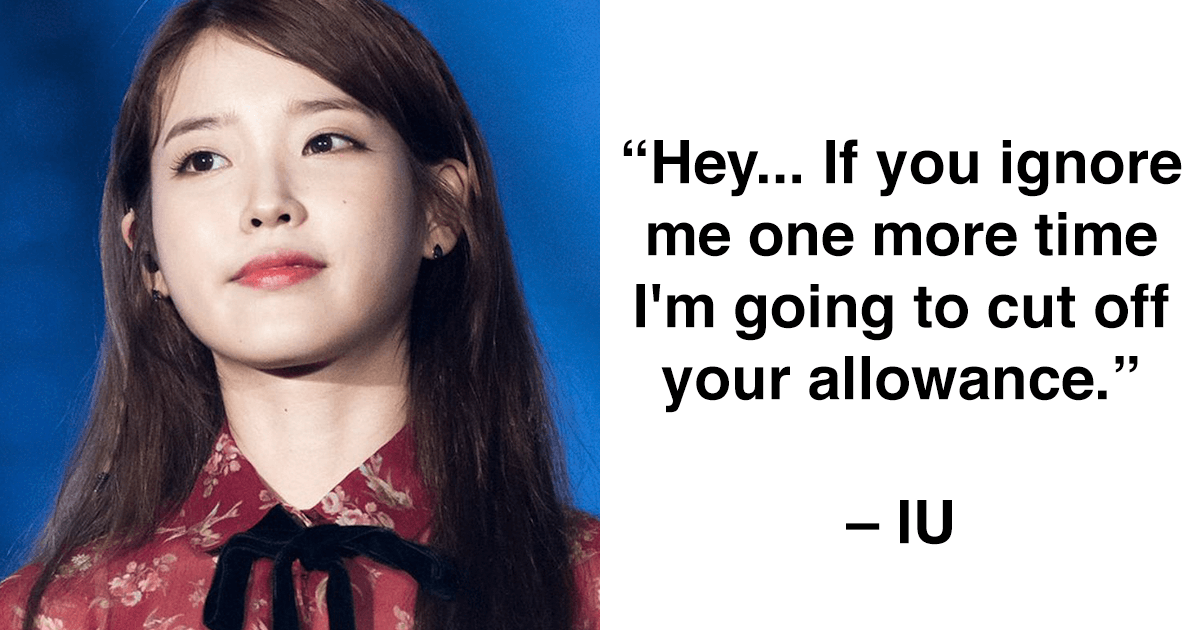 IU and Suzy's Chats with their brothers are exactly what ...