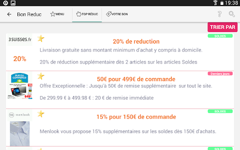 Bon Reduc : code promo et deal screenshot 4