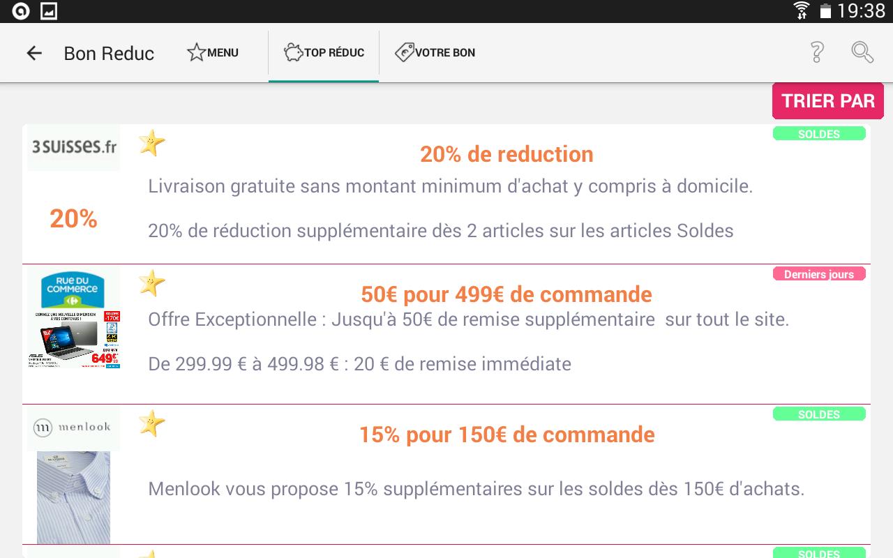 Code promo la redoute plan reduc - Code reduc cdiscount frais de port gratuit ...