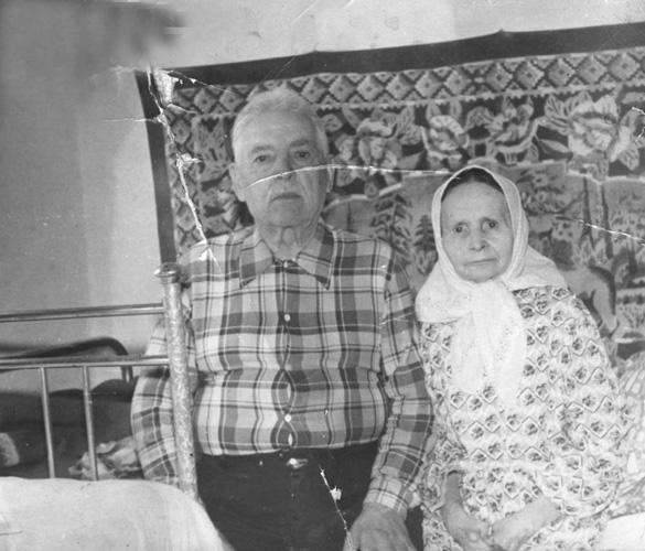 Конон и Анна Калюта. 70-е годы, Украина
