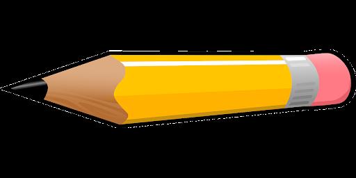 Kolorowy ołówek do pasowania przedszkolaków.