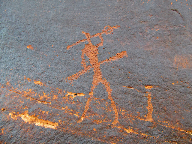 Placer Bottom petroglyph