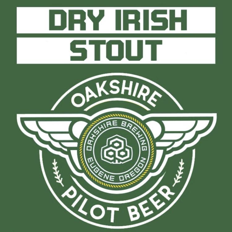 Logo of Oakshire Dry Irish Stout