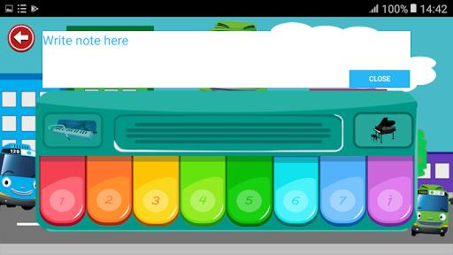 Piano For Kids Bus Tayo 1.0 screenshots 4