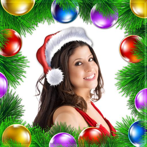 聖誕 相框 攝影 LOGO-玩APPs