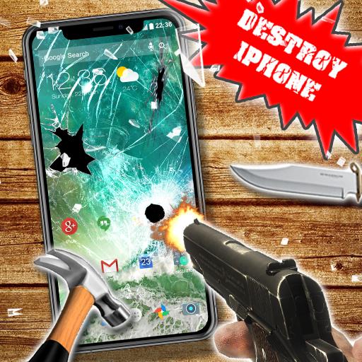 Destroy Iphone Prank Icon